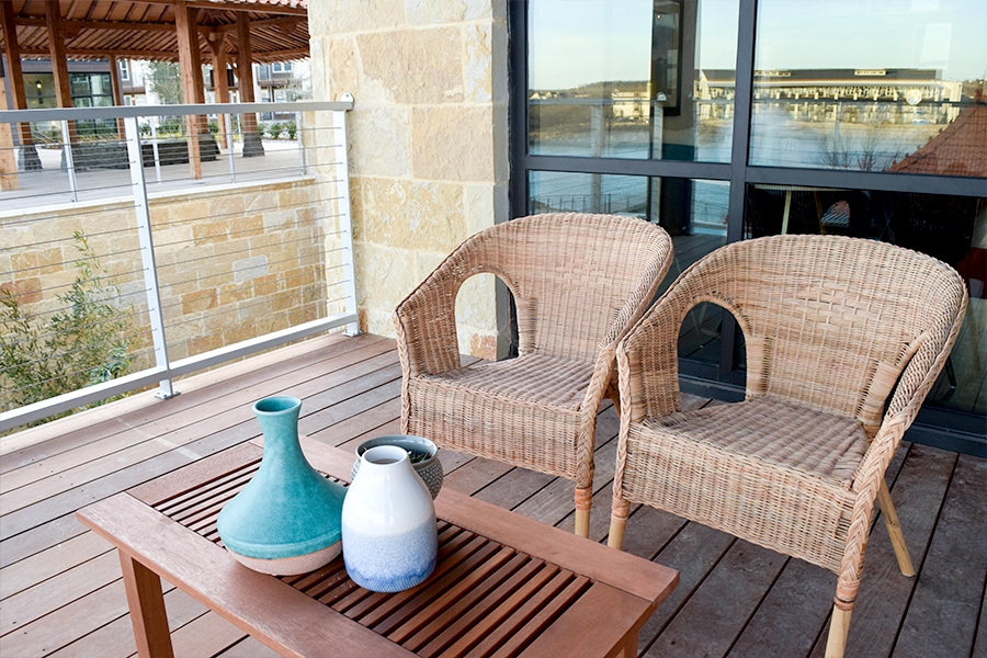Patios & balconies extend your living space