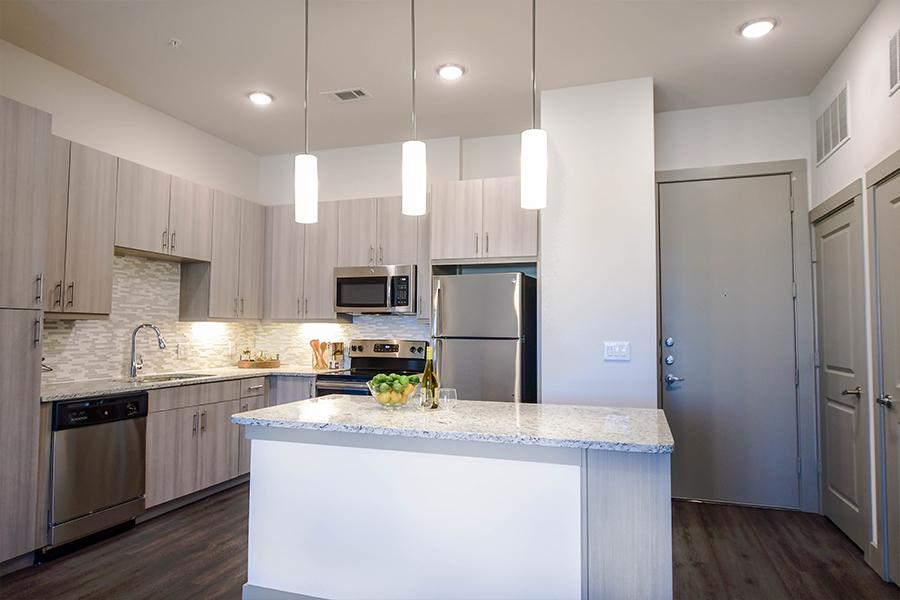 Pendant lighting in kitchens